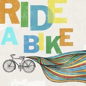 Bike, Ride 1c by Stella Bradley