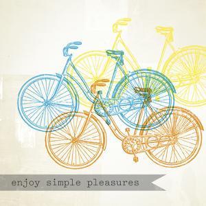 Bikes, Enjoy 3 by Stella Bradley