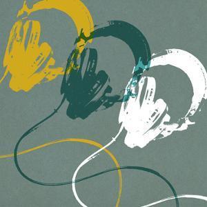 Headphones A by Stella Bradley
