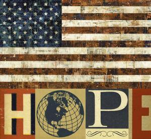 Hope Flag by Stella Bradley