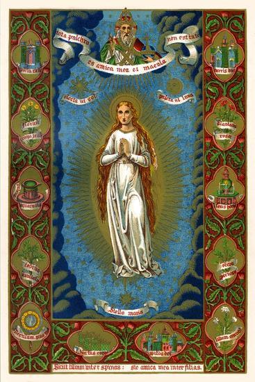 Stella Maria, 1886--Giclee Print