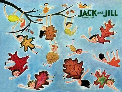 Leaf Kids - Jack and Jill, October 1945
