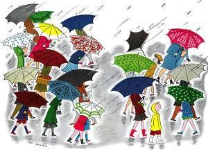 Umbrellas - Jack & Jill by Stella May DaCosta