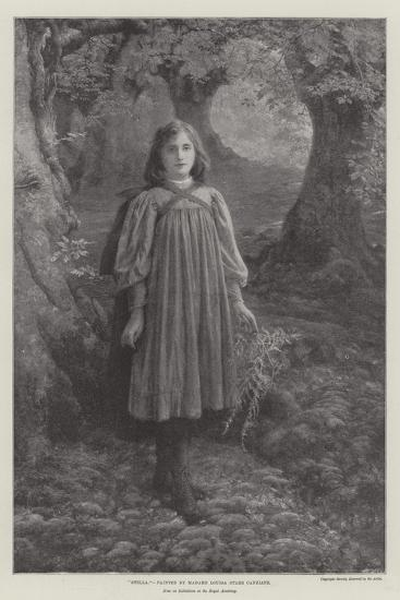 Stella, Now on Exhibition at the Royal Academy--Giclee Print