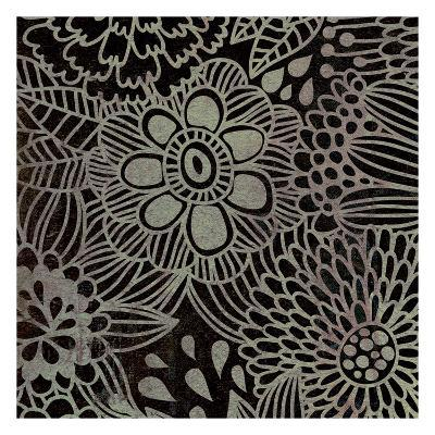 Stencil Floral-Kristin Emery-Art Print
