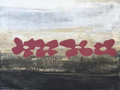 Stenciled Posies III-Natalie Avondet-Art Print