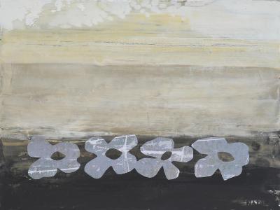 Stenciled Posies V-Natalie Avondet-Art Print