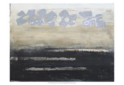 Stenciled Posies VI-Natalie Avondet-Art Print