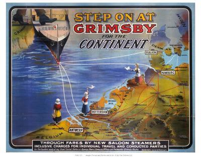 Step on at Grimsby--Art Print