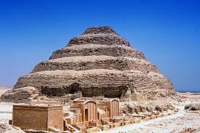 Step Pyramid of King Djoser (Zoze), Saqqara, Egypt, 3rd Dynasty, C2613 Bc--Photographic Print