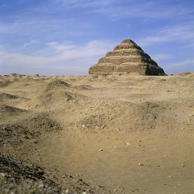 Step Pyramid, Sakkara, Egypt-Paul C^ Pet-Photographic Print