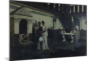 Sun's Last Rays in the Atrium, 1896 by Stepan Vladislavovich Bakalowicz