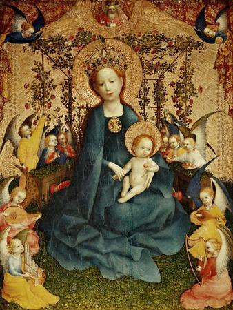 Madonna and Child in the Rose-Garden.