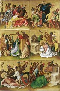 Martyrdom of the Apostles. Right Panel by Stephan Lochner