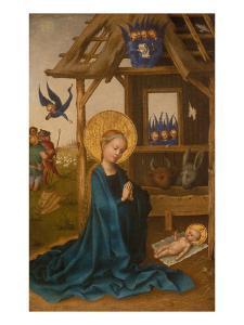 Nativity by Stephan Lochner