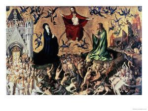 The Last Judgement by Stephan Lochner