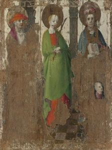 Three Saints, C. 1450 by Stephan Lochner