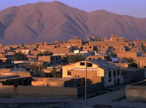 Cityscape at Sunrise, Kabul, Afghanistan by Stephane Victor