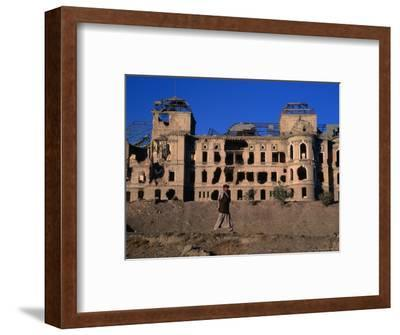 Damaged Darulaman Palace (Kings Palace), Home of King Zahir Shah, Kabul, Afghanistan