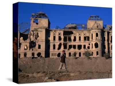 Damaged Darulaman Palace (Kings Palace), Home of King Zahir Shah, Kabul, Afghanistan