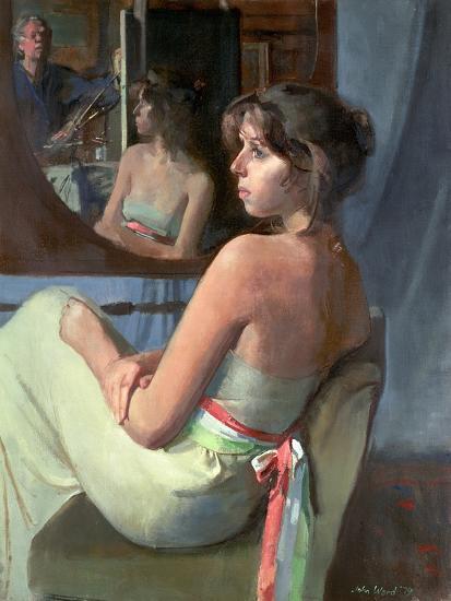 Stephanie in Profile, 1979-John Stanton Ward-Giclee Print