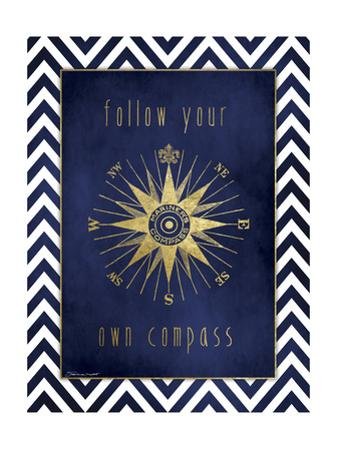 Compass in Gold by Stephanie Marrott