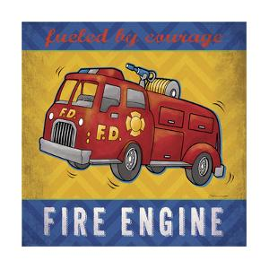Fire Engine by Stephanie Marrott