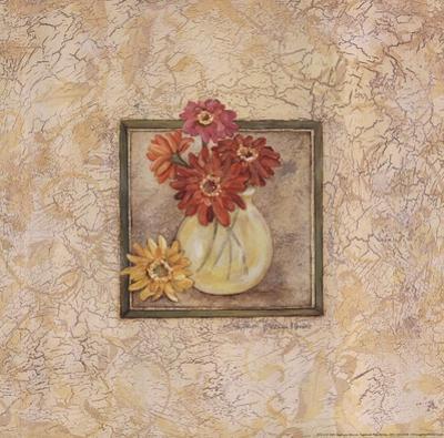 Gerbers in Vase - red flowers