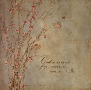 God Never Gives by Stephanie Marrott