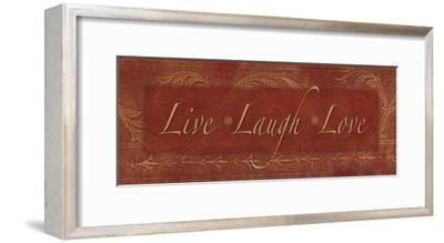 Live Laugh Love - red