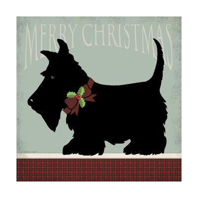 Scottie Merry Christmas