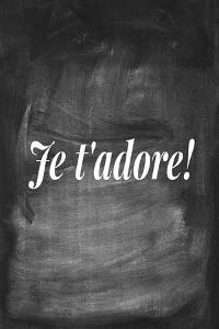 Chalk Type - Amour by Stephanie Monahan