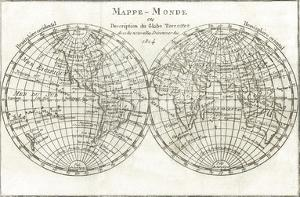 Mappemonde by Stephanie Monahan