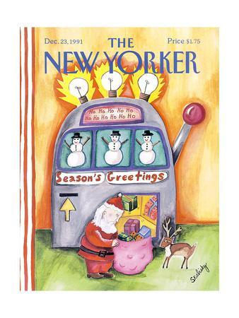 The New Yorker Cover - December 23, 1991