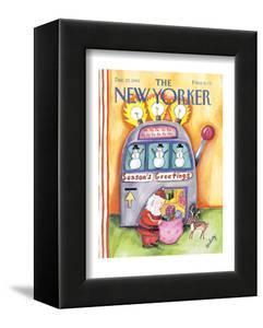 The New Yorker Cover - December 23, 1991 by Stephanie Skalisky