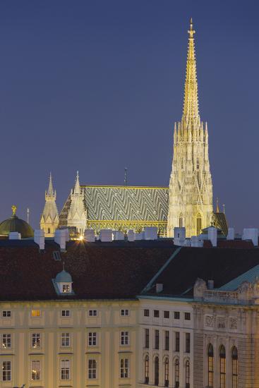 Stephansdom, Hofburg, 1st District, Vienna, Austria-Rainer Mirau-Photographic Print