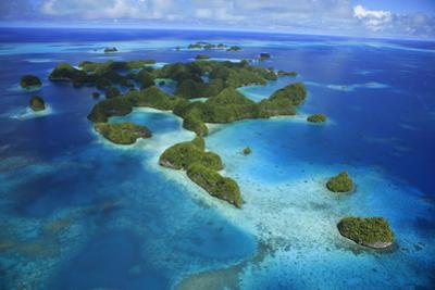 An Aerial Photo of Palau's Rock Islands