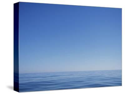 Calm Ocean and Blue Sky off the Coast of North Carolina