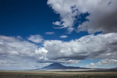 Clouds and Big Sky in the Mountain Landscape of the West