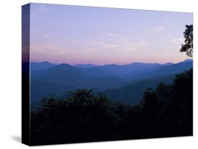 Landscape View of the Great Smoky Mountains