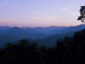 Landscape View of the Great Smoky Mountains by Stephen Alvarez