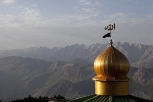 Morning at 10,000 Feet at the Mosque and Guest House by Stephen Alvarez