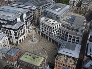 Paternoster Square and the London Stock Exchange Seen From St Paul's by Stephen Alvarez