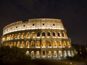 The Colosseum at Night by Stephen Alvarez