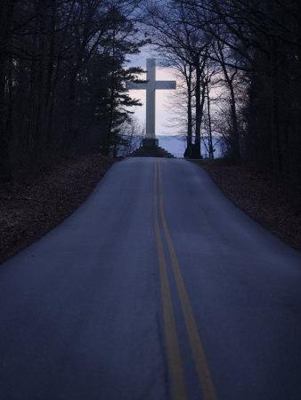 The Cross in Sewanee is a Memorial to Soldiers Who Died Last Century
