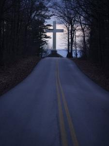 The Cross in Sewanee is a Memorial to Soldiers Who Died Last Century by Stephen Alvarez