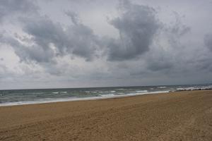 The Stormy Atlantic Ocean on France's Southern Coast by Stephen Alvarez