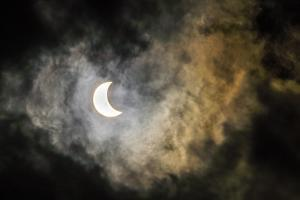 Total Eclipse of the Sun at Night by Stephen Alvarez