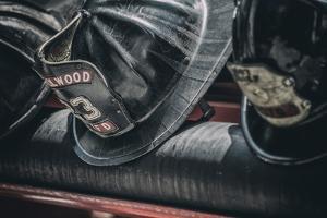 Us Firemans Helmet by Stephen Arens