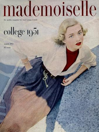 Mademoiselle Cover - August 1951